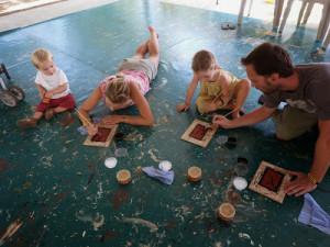 Australie : cours de dessin aborigène