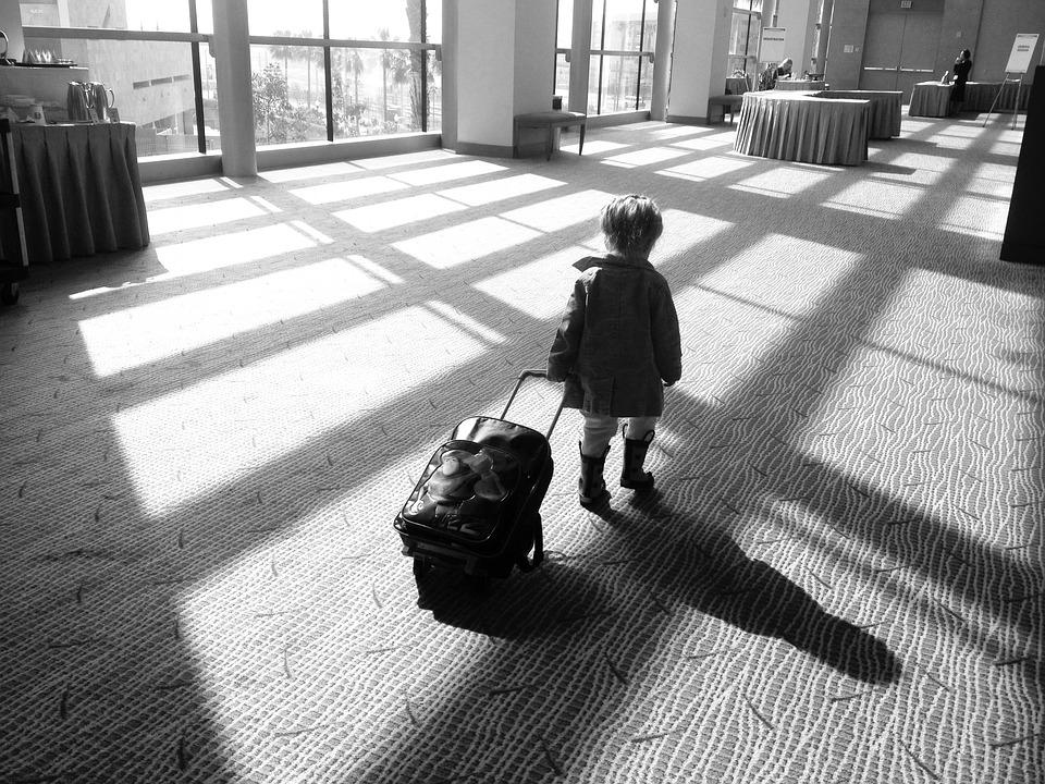 Dans la valise des enfants