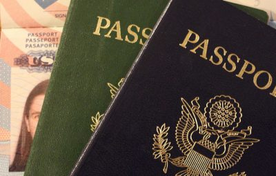 Passeport américain voyage