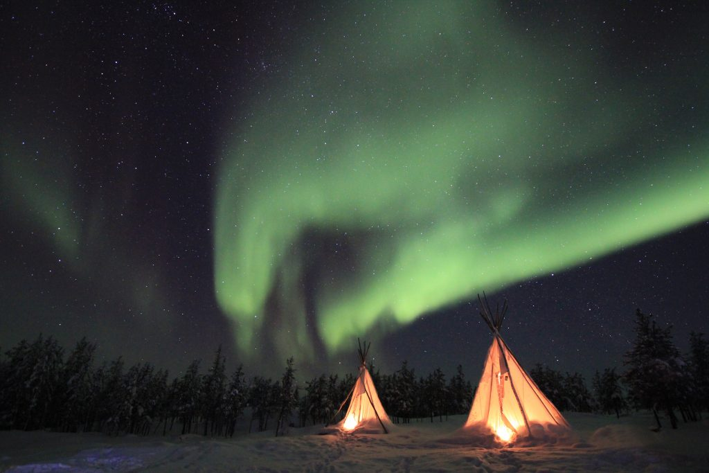 Période aurores boréales en Laponie : quand partir ?