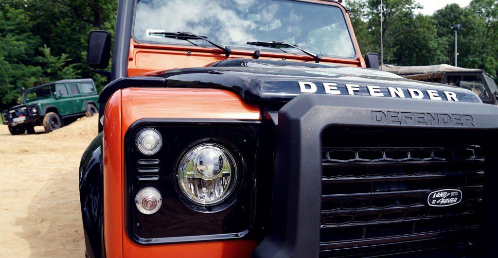 Modèle de Defender de la marque Land Rover