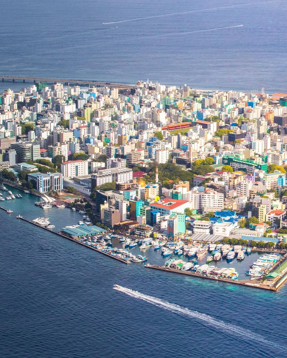 ville de malé aux maldives
