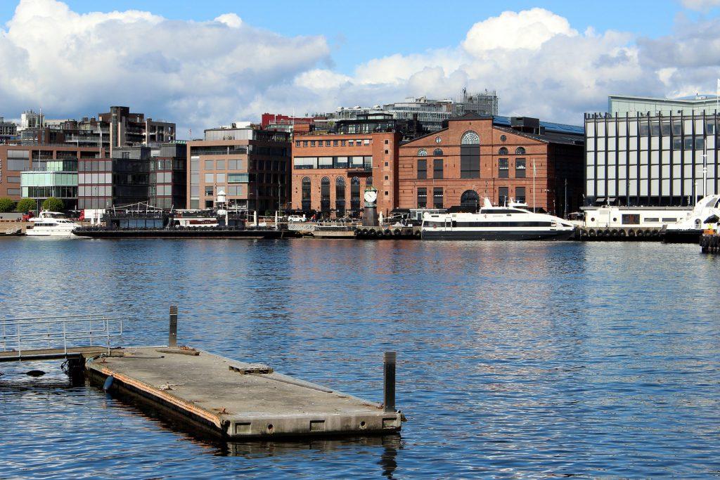 le port d'Oslo