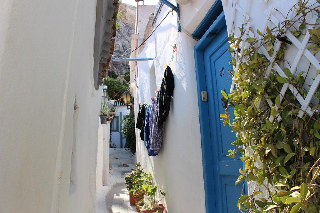 rue de plaka à athènes
