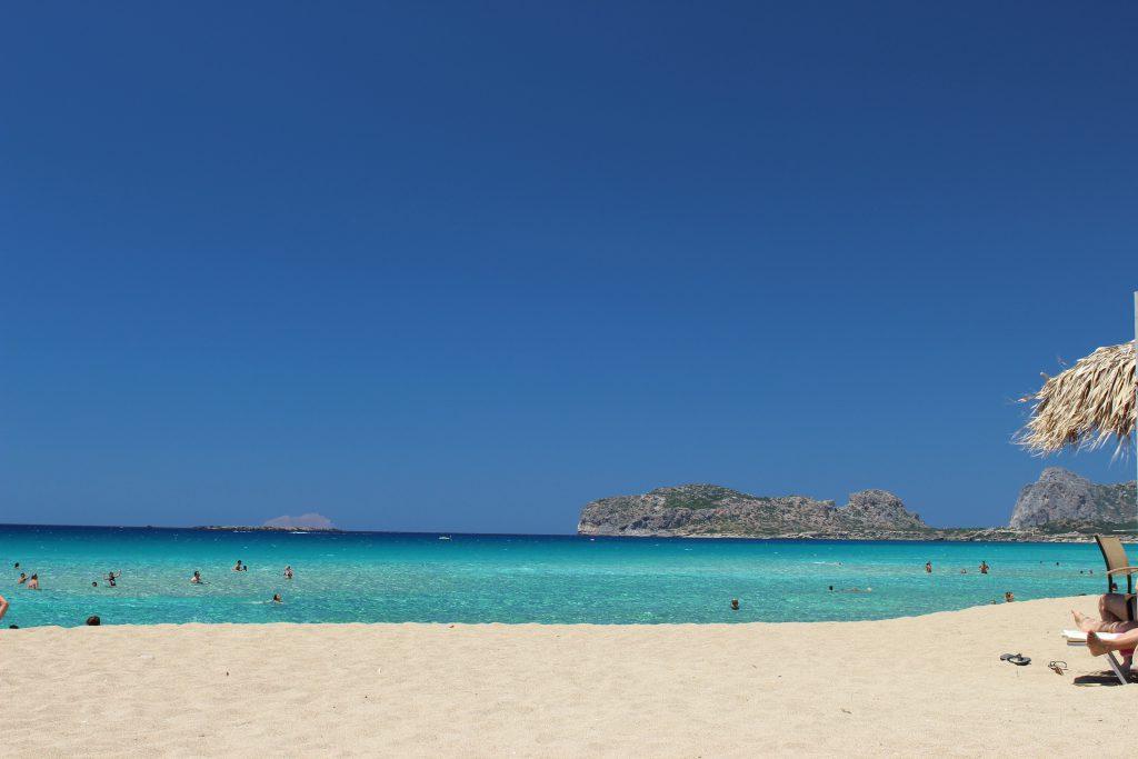 plage de crète en grèce