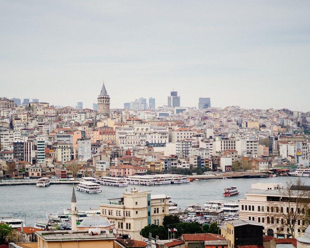 vue d'Istanbul en Turquie