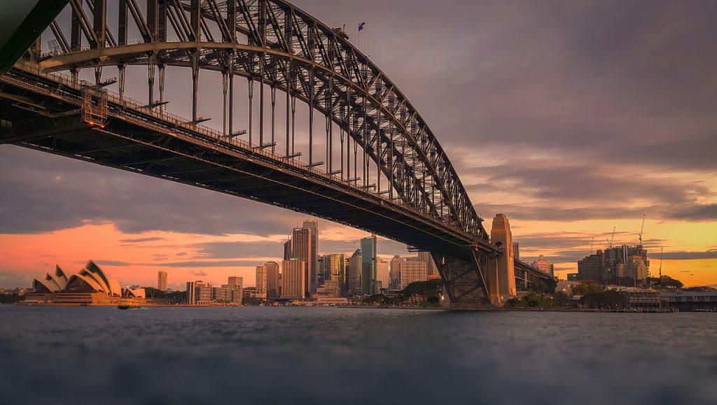Le pont Harbour Bridge de Sydney