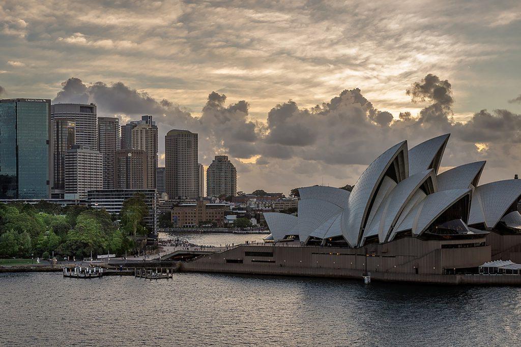 photo de jour de l'opéra de Sydney